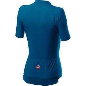 Castelli Anima 3 Koszulka z krótkim rękawem Kobiety, niebieski